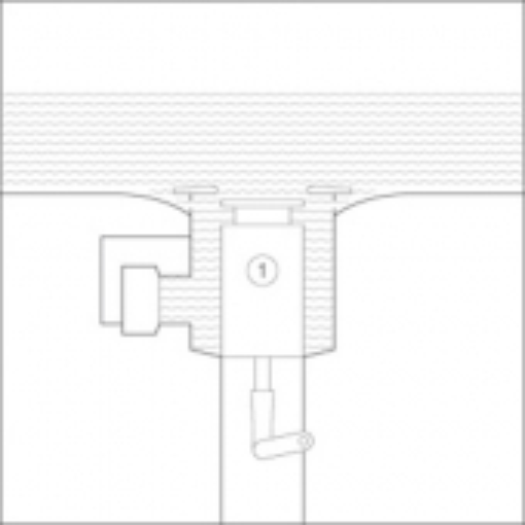 Bette BetteLux Shape - Ablaufgarnitur Sensory weiß