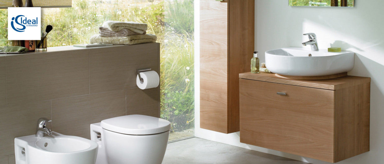 Ideal Standard Connect - Modern bathroom articles at xTWO