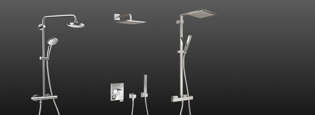 Auswahl an Grohe Duschsystemen bei xTWOstore