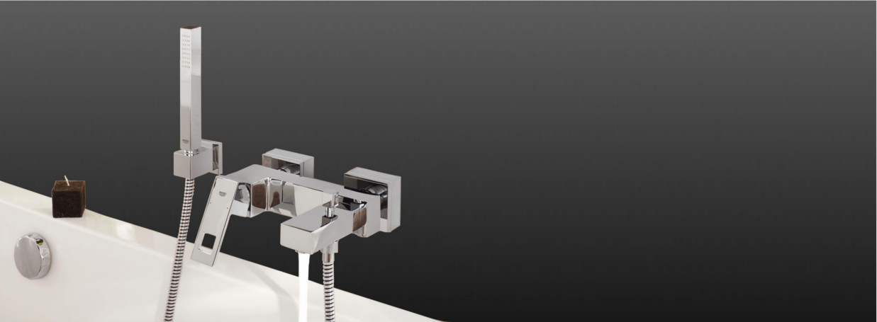 Shower and bath faucets Grohe Eurocube at xTWOStore