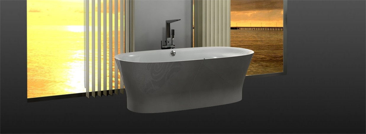 Duravit bathtub Cape Cod at xTWOstore