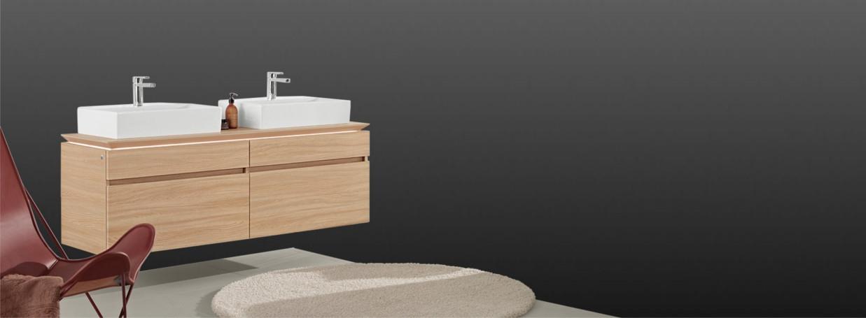 Villeroy & boch Legato Waschtischunterschrank bei xTWOStore