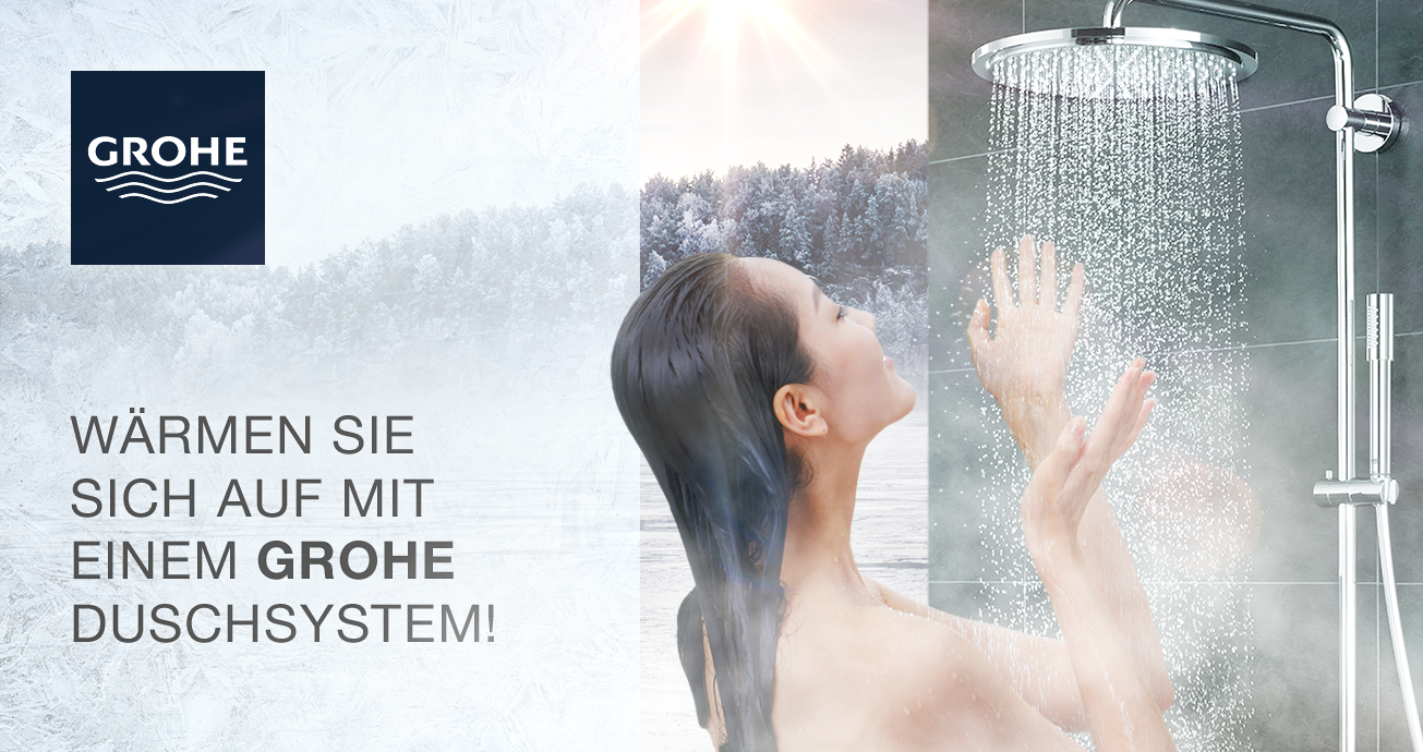GROHE Winter Spezial Duschsysteme